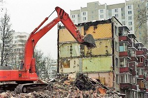 знесення старих багатоповерхових будинків